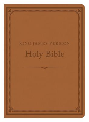 The KJV Compact Gift & Award Bible Reference Edition [Camel] - Publishing, Barbour