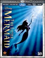 The Little Mermaid [Diamond Edition] [3D] [3 Discs] [Blu-ray/DVD] [Includes Digital Copy] - John Musker; Ron Clements