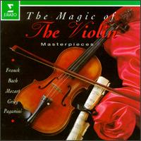 The Magic of the Violin - Alexander Markov (violin); Gérard Jarry (violin); Mikhail Rudy (piano); Pierre Amoyal (violin)