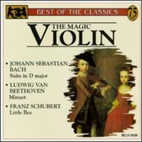 The Magic Violin - Aaron Rosand (violin); Jan Stanovsky (violin)