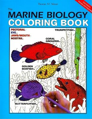 The Marine Biology Coloring Book, 2e - Niesen, Thomas M, and Coloring, Concepts Inc