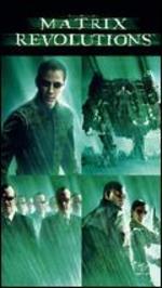 The Matrix Revolutions [With Watchmen Movie Cash]
