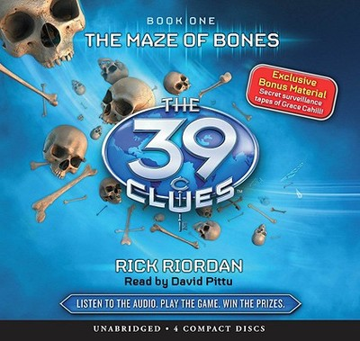 The Maze of Bones - Riordan, Rick, and Pittu, David (Read by)