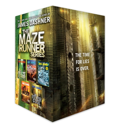 The Maze Runner Series Complete Collection Boxed Set (5-Book) - Dashner, James