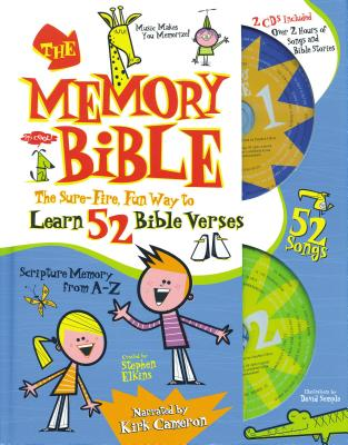 The Memory Bible: The Sure-Fire, Fun Way to Learn 52 Bible Verses - Elkins, Stephen (Creator), and Semple, David (Illustrator)
