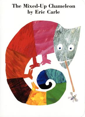The Mixed-Up Chameleon Board Book -