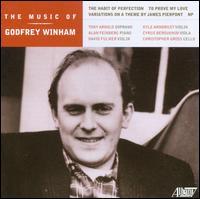 The Music of Godfrey Winham - Alan Feinberg (piano); Chris Gross (cello); Cyrus Beroukhim (viola); David Fulmer (violin); Godfrey Winham (computers);...