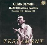 The NBC Broadcast Concerts, December 1949 - January 1950