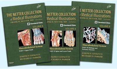 The Netter Collection of Medical Illustrations- Musculoskeletal System Package: Volume 6 - Iannotti, Joseph P., MD, PhD, and Parker, Richard
