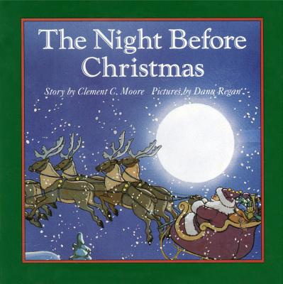 The Night Before Christmas Board Book - Trent, Robbie, and Simont, Marc (Photographer)
