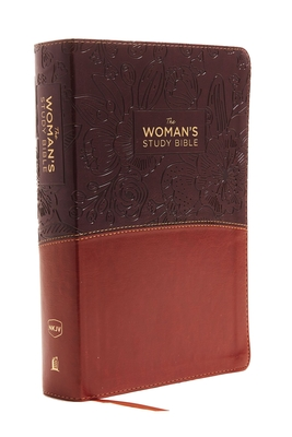 The NKJV, Woman's Study Bible, Fully Revised, Imitation Leather, Brown/Burgundy, Full-Color: Receiving God's Truth for Balance, Hope, and Transformation - Patterson, Dorothy Kelley (Editor), and Kelley, Rhonda (Editor), and Thomas Nelson