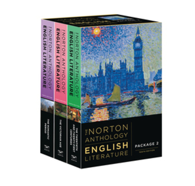 The Norton Anthology of English Literature - Greenblatt, Stephen (Editor)