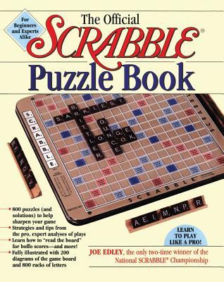 The Official Scrabble Puzzle Book - Edley, Joe