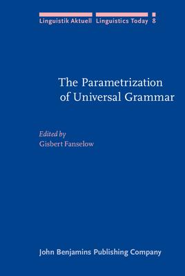 The Parametrization of universal grammar - Fanselow, Gisbert