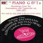 The Piano G & T's, Vol. 1: Recordings from the Grammophone Typewriter Era