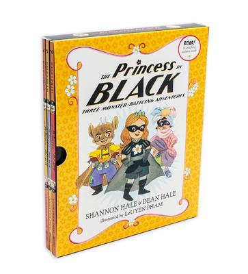 The Princess in Black: Three Monster-Battling Adventures - Hale, Shannon, and Hale, Dean, and Pham, Leuyen (Illustrator)