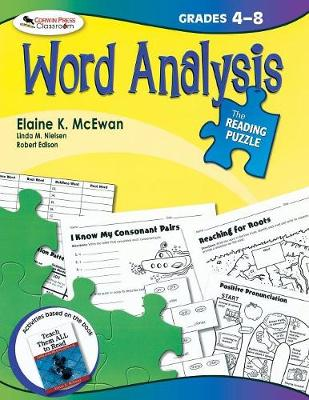 The Reading Puzzle: Word Analysis: Grades 4-8 - McEwan-Adkins, Elaine K
