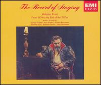 The Record of Singing, Vol. 4: From 1939 to the End of the 78 Era - Adolf Stauch (piano); Adolph Baller (piano); Aksel Schiøtz (tenor); Alba Anzellotti (soprano); Albert Coates (piano);...