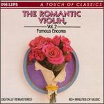 The Romantic Violin, Vol. 2: Famous Encores - Arthur Grumiaux (violin); István Hajdu (piano)