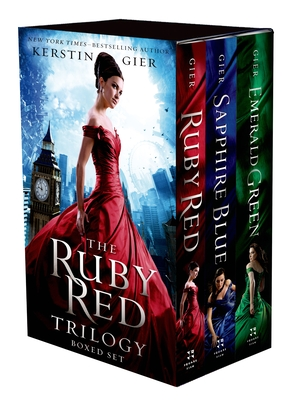 The Ruby Red Trilogy Boxed Set: Ruby Red, Sapphire Blue, Emerald Green - Gier, Kerstin, and Bell, Anthea (Translated by)
