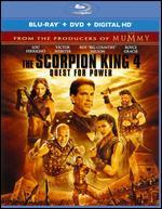 The Scorpion King 4: Quest for Power [2 Discs] [Includes Digital Copy] [UltraViolet] [Blu-ray/DVD]