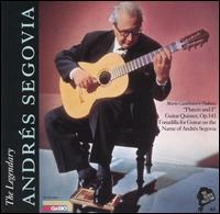 The Segovia Collection, Vol. 8 - Andrés Segovia (guitar); Chigiano Quintet