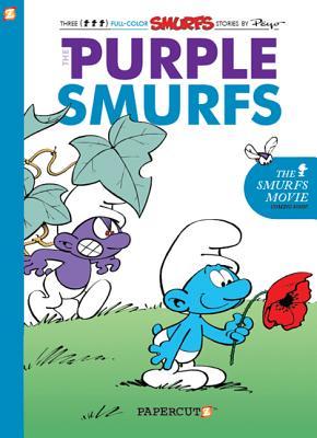 The Smurfs #1: The Purple Smurfs - Delporte, Yvan, and Peyo