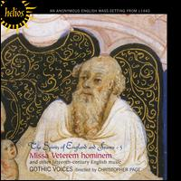 The Spirits of England and France, Vol. 5: Missa Veterem Hominem - Gothic Voices