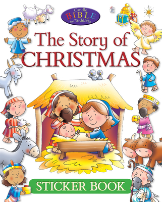The Story of Christmas Sticker book - David, Juliet