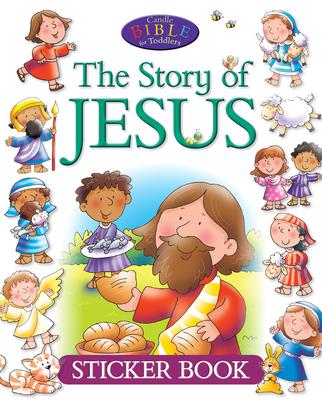 The Story of Jesus Sticker Book - David, Juliet