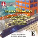 The Tertis Tradition: Music for Viola & Piano