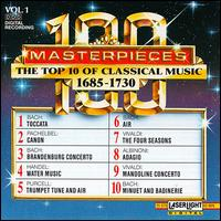 The Top 10 of Classical Music, 1685-1730 - Bela Banfalvi (violin); Blechbläserensemble Ludwig Güttler; Budapest Strings; German Bach Soloists; Hannes Kästner (organ);...