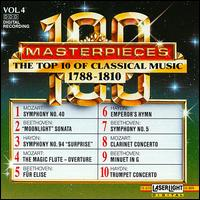 The Top 10 of Classical Music, 1788-1810 - Béla Kovács (clarinet); Budapest Strings; Evelyne Dubourg (piano); Kodály Quartet; Ludwig Güttler (trumpet)