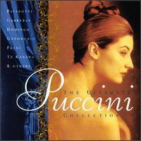 The Ultimate Puccini Collection - Alfredo Mariotti (vocals); Angela Gheorghiu (vocals); Birgit Nilsson (vocals); Carlo Bergonzi (vocals); Cesare Siepi (vocals); Ettore Bastianini (vocals); Fernando Corena (vocals); Franco Corelli (vocals); Gianna D'Angelo (vocals)