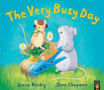The Very Busy Day - Hendry, Diana, and Chapman, Jane