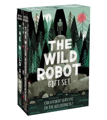 The Wild Robot Hardcover Gift Set - Brown, Peter