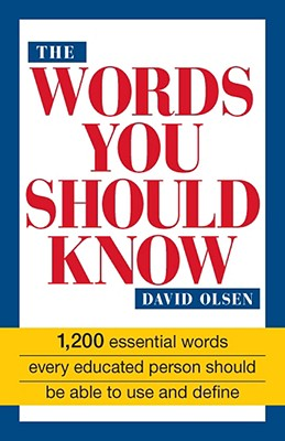 The Words You Should Know - Olsen, David