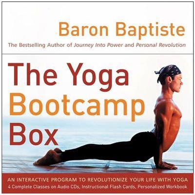The Yoga Bootcamp Box: An Interactive Program to Revolutionize Your Life with Yoga - Baptiste, Baron