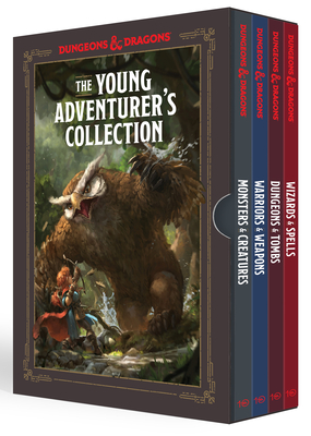 The Young Adventurer's Collection [dungeons & Dragons 4-Book Boxed Set]: Monsters & Creatures, Warriors & Weapons, Dungeons & Tombs, and Wizards & Spells - Zub, Jim, and King, Stacy, and Wheeler, Andrew