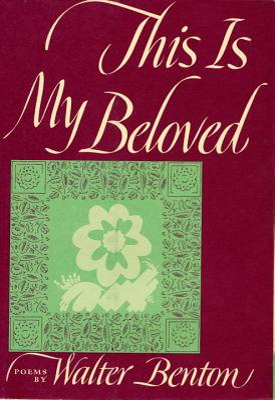 This Is My Beloved - Benton, Walter