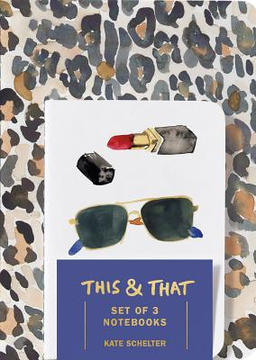 This & That Notebooks (Set of 3) by Kate Schelter - Schelter, Kate