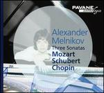 Three Sonatas: Mozart, Schubert, Chopin