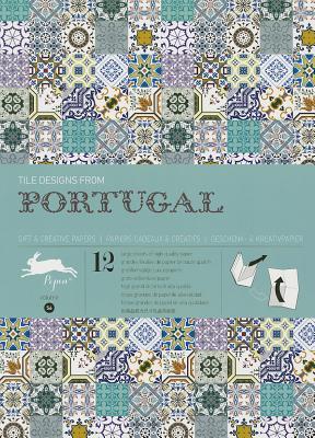 Tile Designs from Portugal: Gift & Creative Paper Book Vol. 56 - Van Roojen, Pepin