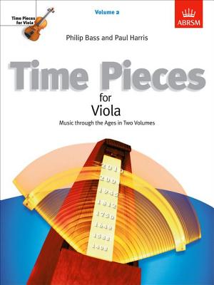 Time Pieces for Viola: v. 2 - Bass, Philip (Editor), and Harris, Paul (Editor)
