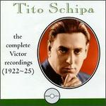 Tito Schipa: The Complete Victor Recordings (1922-25)