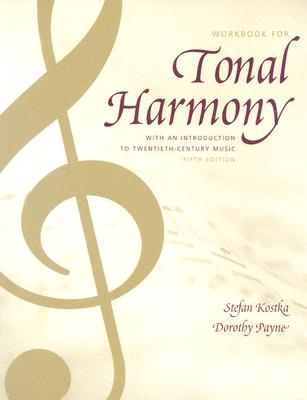 Tonal Harmony Wkbk with Wkbk Audio CD and Finale CD-ROM - Kostka, Stefan, and Kostka Stefan
