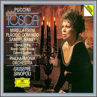 Tosca - Angelo Veccia (vocals); Anthony Laciura (vocals); Bryan Secombe (vocals); Bryn Terfel (vocals); Lee Tierna (vocals); Mirella Freni (vocals); Plácido Domingo (vocals); Ralf Lukas (vocals); Samuel Ramey (vocals)