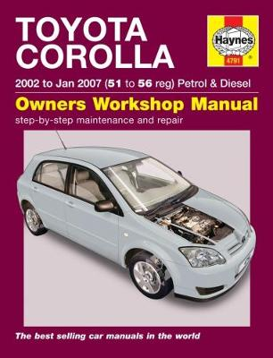 Toyota Corolla: (02 - Jan 07) 51 to 56 - Gill, Peter