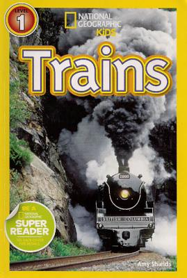Trains (1 Hardcover/1 CD) - Shields, Amy, and Ganser, L J (Read by)