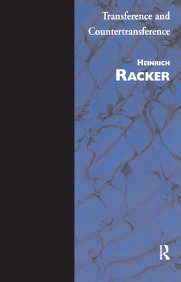 Transference and Countertransference - Racker, Heinrich